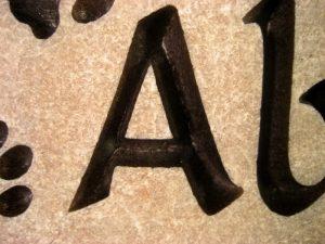 Custom Name Abby Memorial Stone