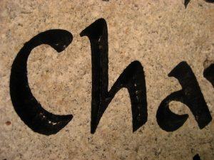 Custom Name Chavelita Memorial Stone