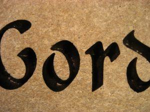 Pet Gord Memorial stone
