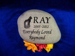 Raymond Cat Memorial Stone