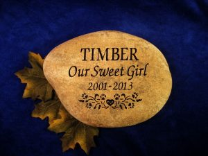 Our Sweet Girl Pet Memorial Stone