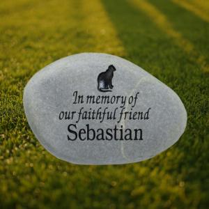 In Memory Pet Memorial Stone