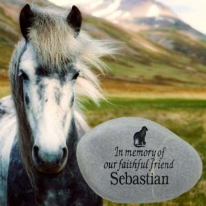 Horse Memorial Stone