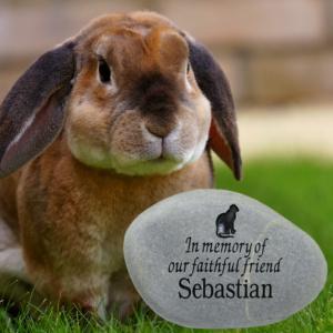 Rabbit Memorial Stone